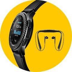 Купи смарт-часы Samsung Gear S3 и получи в подарок наушники Samsung Level U  Pro! 86a3bb061e1b1